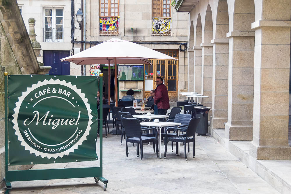 Café bar miguel ourense