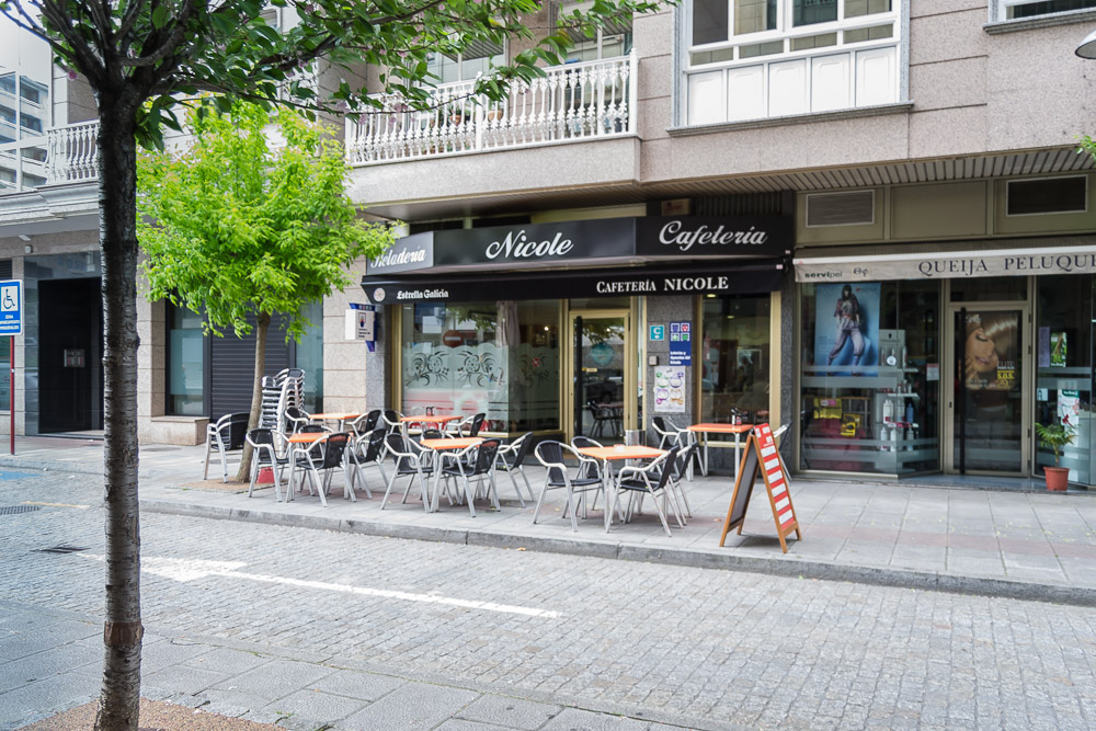 Cafeteria nicole ourense