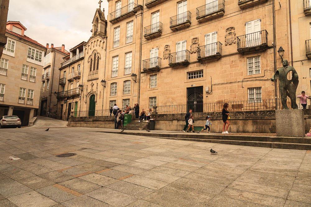 Plaza corregidor praza correxidor ourense orenseando