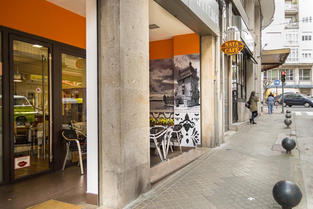 Pasteleria cafeteria nata café ourense