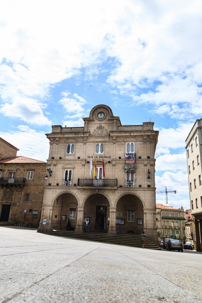 Casa do concello ouense ourenseando